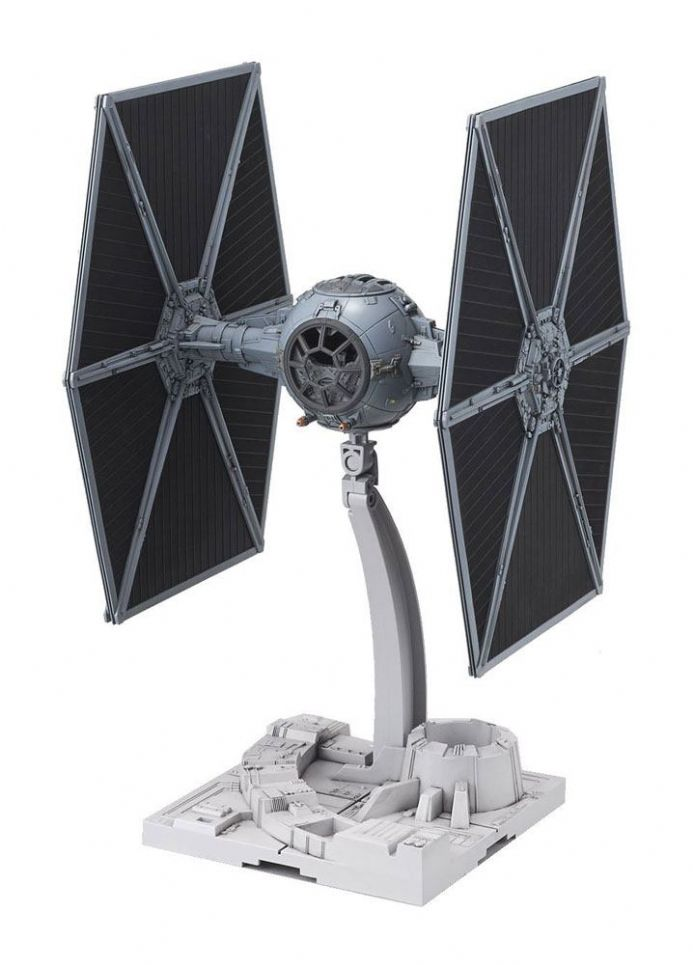 Star Wars Bandai Plastic Model Kit 1/72 Tie Fighter | Buy now at The G33Kery - UK Stock - Fast Delivery japan